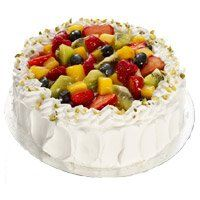 Online Cake Delivery in Mehsana. Send 1 Kg Eggless Fruit Cakes in Mehsana