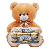 Deliver Valentine's Day Gifts to Gangtok and Ferrero Rocher 16 Pieces Chocolates to Gangtok