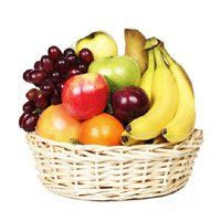 Birthday Gifts Delivery to Surat. Deliver 2 Kg Fresh Fruits Basket to Surat