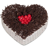 Send Heart Shape Cake Delivery to Bhilai
