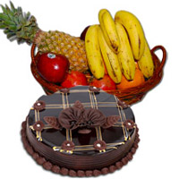 Order Fresh Fruits Basket to India