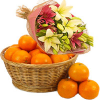 Deliver New Year Fresh Orange Fruit to India