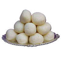 Send Birthday Gifts to India. 1 Kg Rasgulla in Sweets to India