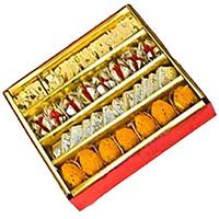 Place Order for Birthday Gifts in Goa. 1 kg Assorted Birthday Sweets in India online