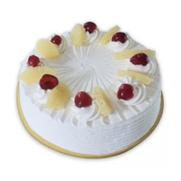 Send Pineapple Cake Delivery in India at Midnight