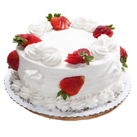 1 Kg Eggless Strawberry Cake in India From 5 Star Hotel