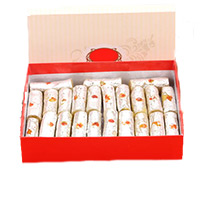 Send Birthday Gifts to India. 250gm Kaju Roll Sweets in India