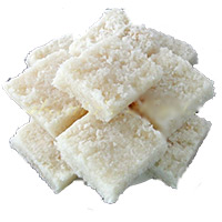 500gm Coconut Barfi Sweets to Bhuj. Birthday Gifts to India