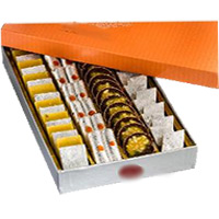 500 gm Assorted Kaju Sweets with 1 Free Rakhi in Jodhpur