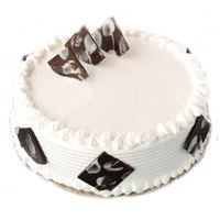 Send 1 Kg Vanilla Cakes to India From 5 Star Hotel