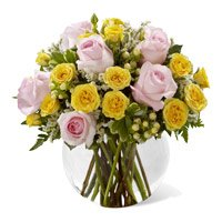 Online Holi Flowers to India