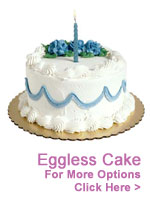 Cakes to India : Send Eggless Cakes to India