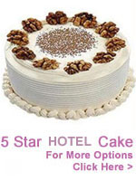 Cakes to India : Cakes from Five Star Bakery