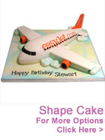 Cakes to India : Shape Cakes to India