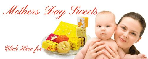 Online Mother's Day Sweet Delivery Moradabad