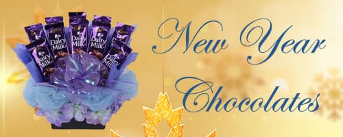 New Year Chocolate Delivery to Madurai
