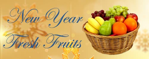 New Year Fresh Fruits to Cuttack