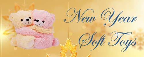New Year Soft Toy to Cuttack