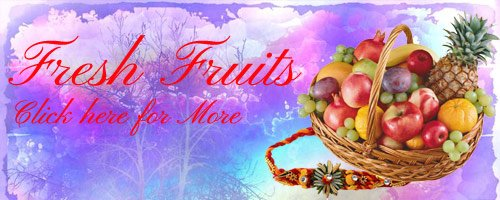 Rakhi Fruits to Erode