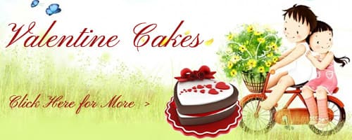Valentine's Day Cakes to Mohali