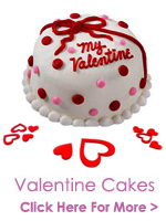 Valentines Day Cakes to India