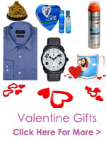 Send Valentines Gifts to India, Valentine Gifts to India